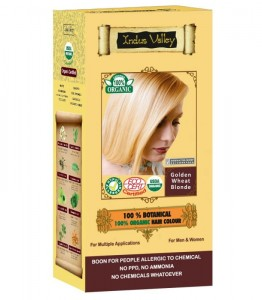 INDUS VALLEY Farba do włosów Złocisty Blond 120g