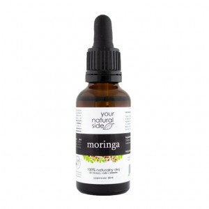 YOUR NATURAL SIDE Olej Moringa, nierafinowany, pipeta 30 ml